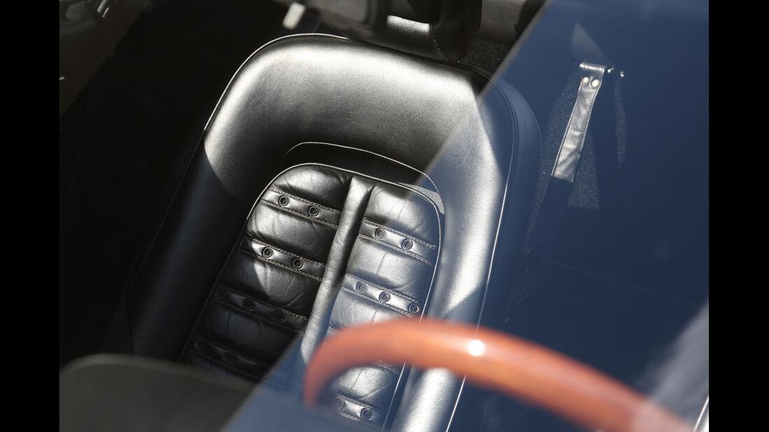 Ferrari 365 GTB/4, Fahrersitz