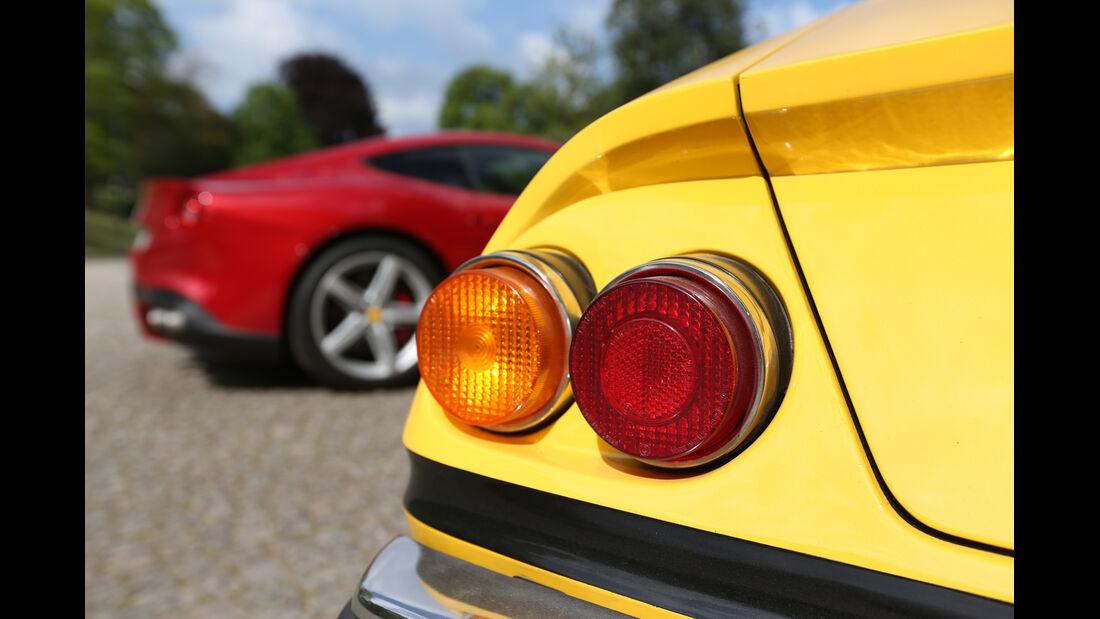 Ferrari 365 GTB/4, Heckleuchte