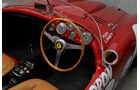 Ferrari 375 MM Spider, Cockpit, Lenkrad