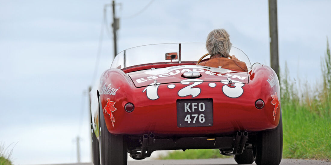 Ferrari 375 MM Spider, Heck, Rückansicht