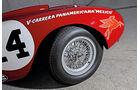Ferrari 375 MM Spider, Speichenrad, Felge