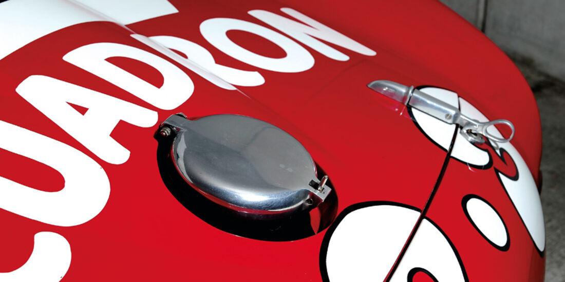 Ferrari 375 MM Spider, Tankdeckel, Tank