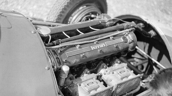 Ferrari - 4,5-Liter-V12 - GP Italien 1951 - Motor