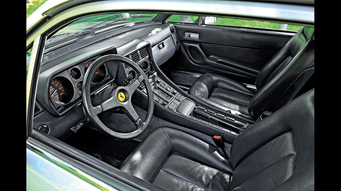 Ferrari 400 GT / 400(i) / 412, Cockpit