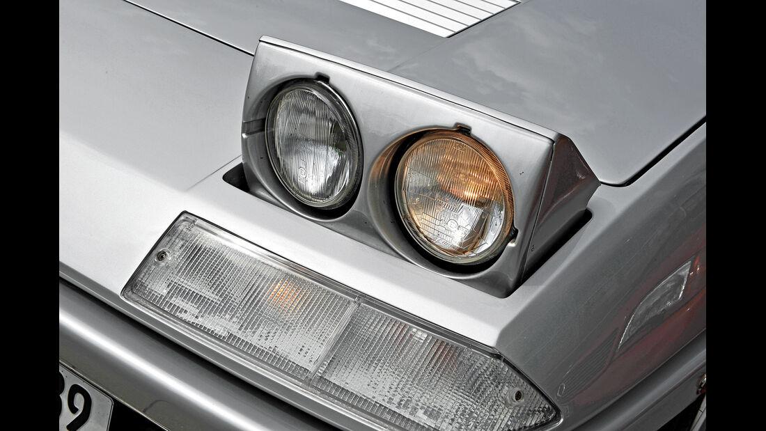 Ferrari 400 GT / 400(i) / 412, Klappscheinwerfer, Frontscheinwerfer