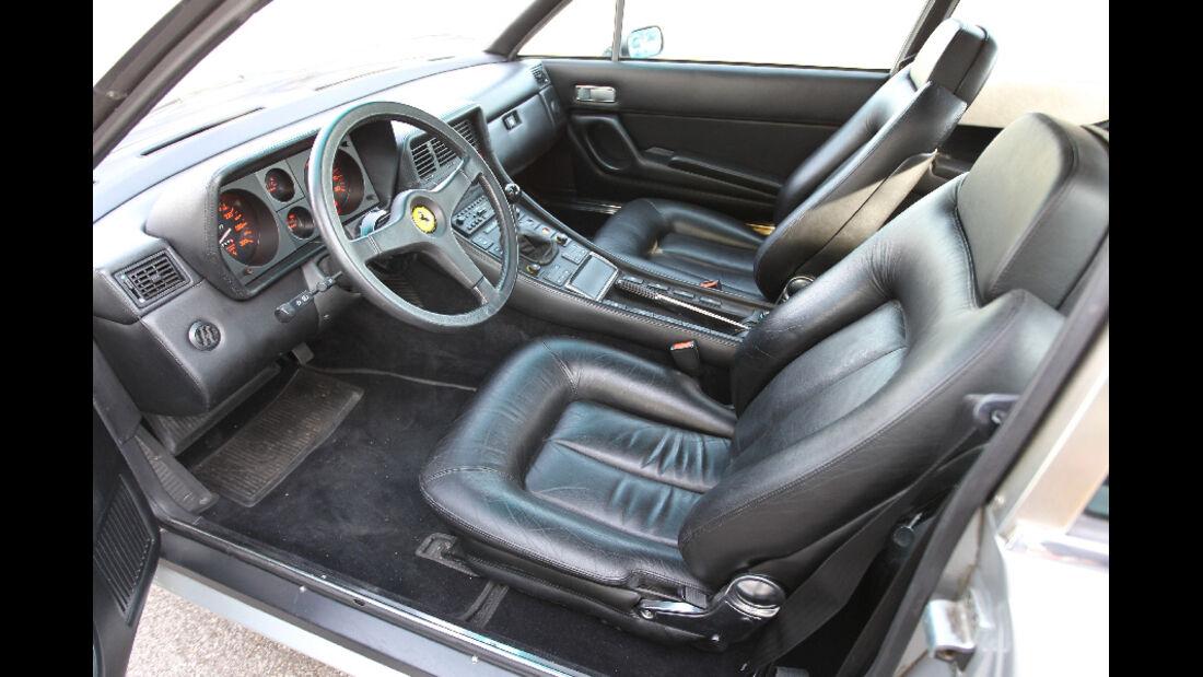 Ferrari 412, 1988, Cockpit, Detail