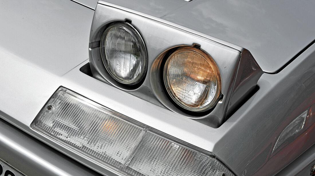 Ferrari 412, Frontscheinwerfer, Klappscheinwerfer