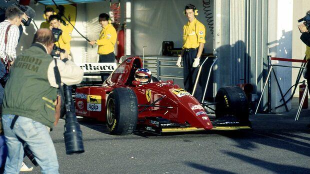 Ferrari 412 T2 (1995) Michael Schumacher Estoril