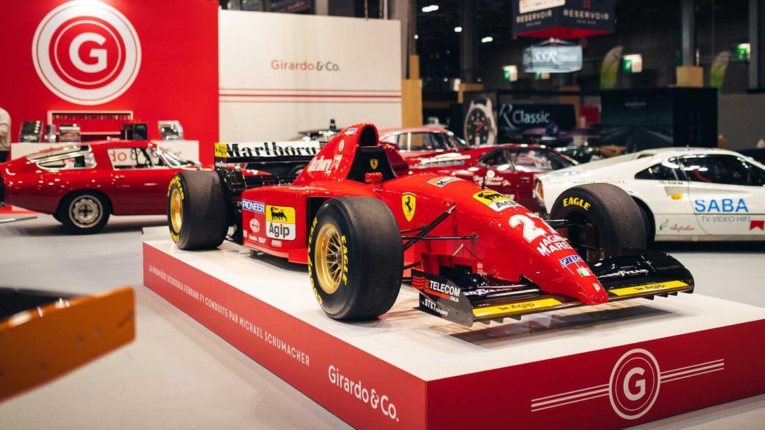 Ferrari 412 T2 (1995) Rétromobile Paris