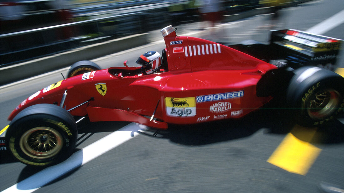 Ferrari 412T2 - F1-Saison 1995