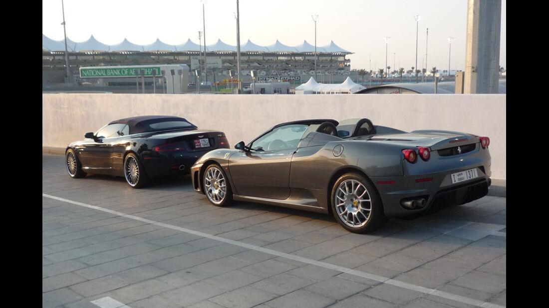Ferrari 430 Spider Abu Dhabi