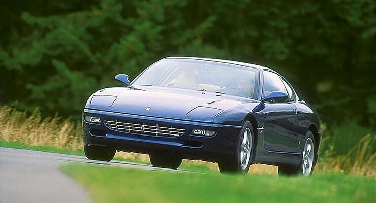 Ferrari 456 GT, Frontansicht