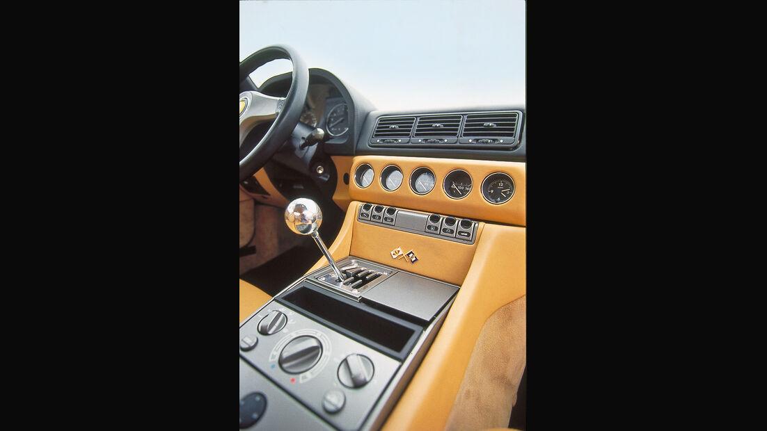 Ferrari 456 GT, Mittelkonsole, Innenraum