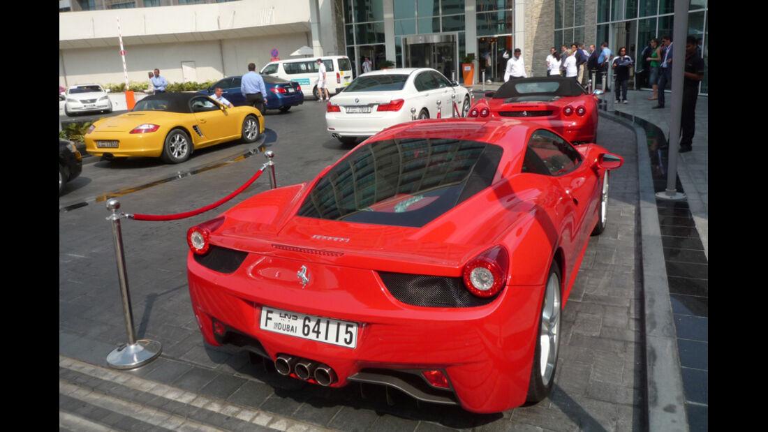 Ferrari 458 Abu Dhabi
