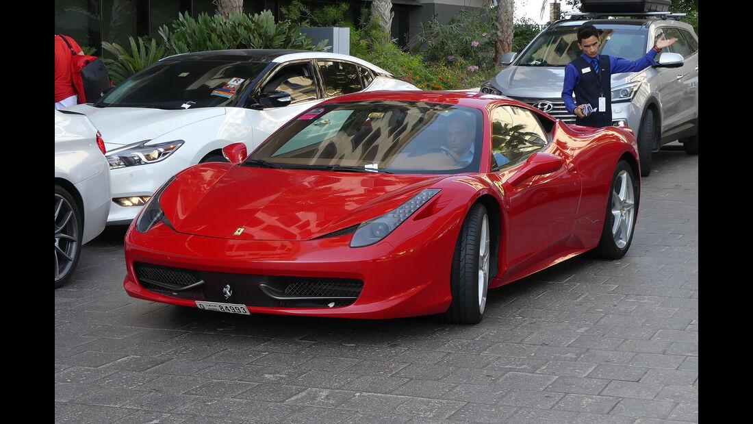 Ferrari 458 - Carspotting - Abu Dhabi 2017