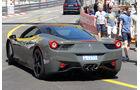 Ferrari 458 -  Carspotting - Formel 1 - GP Monaco 2015