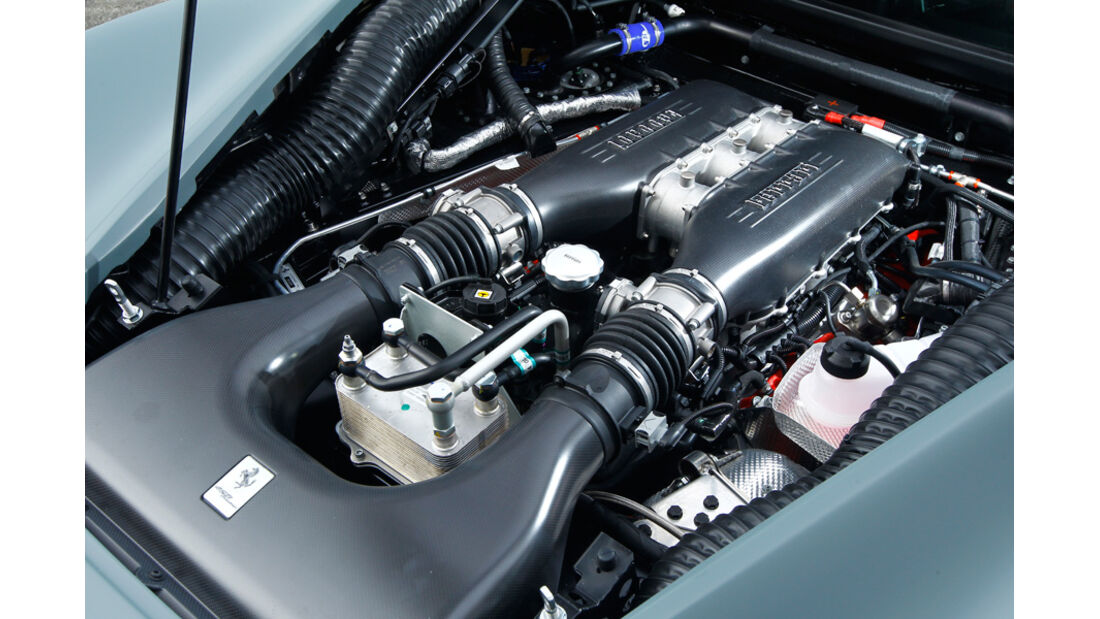 Ferrari 458 Challenge, Detail, Motor, Motorblock