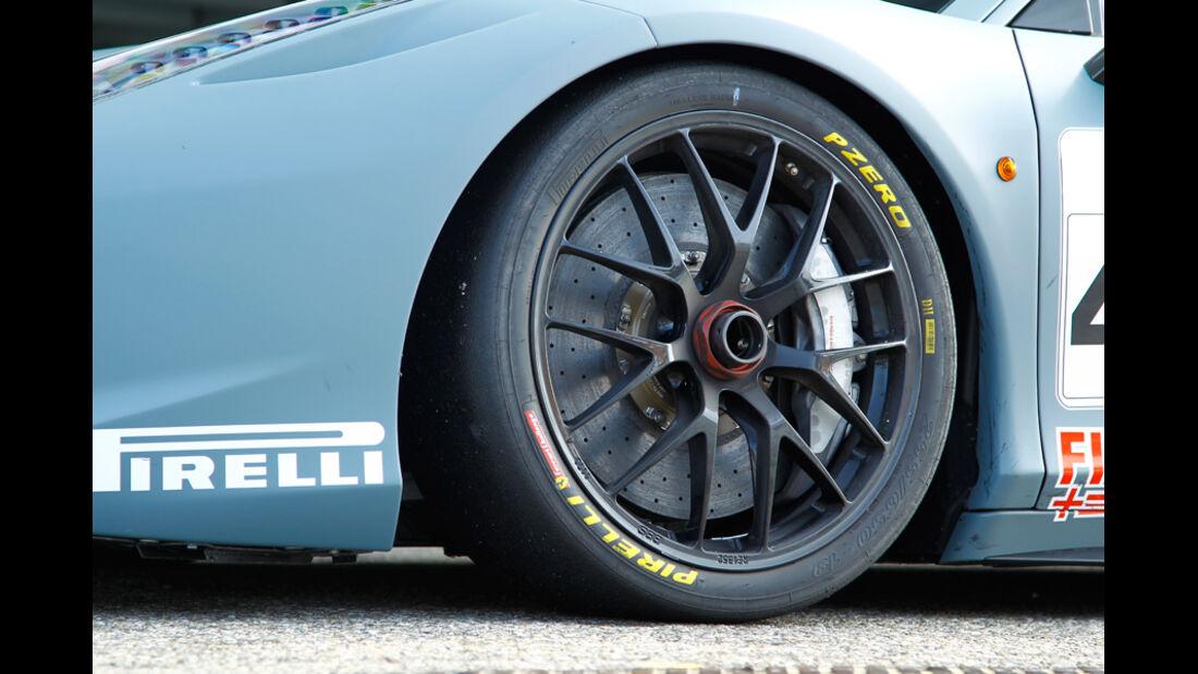 Ferrari 458 Challenge, Detail, Vorderrad, Felge