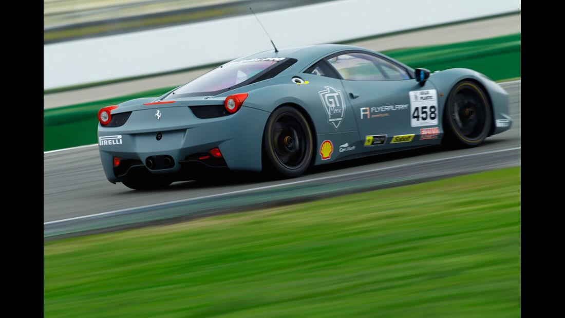 Ferrari 458 Challenge, Rückansicht