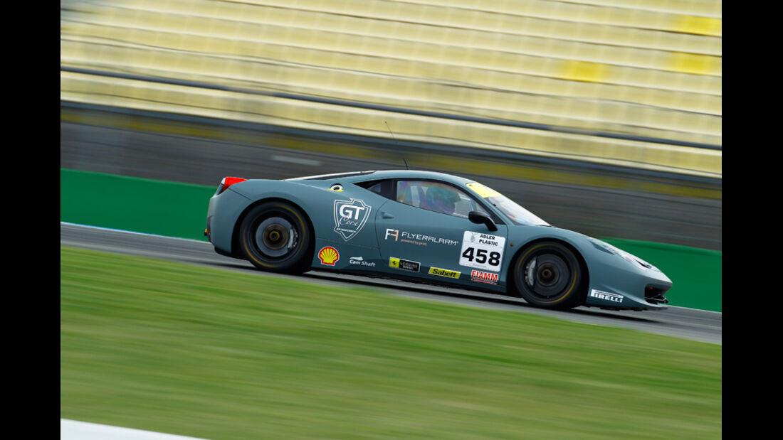 Ferrari 458 Challenge, Seitenansicht