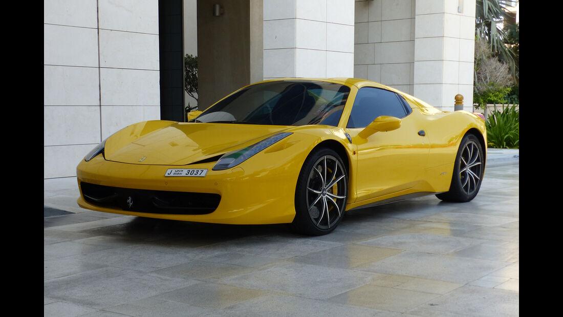 Ferrari 458 - GP Abu Dhabi - Carspotting 2015