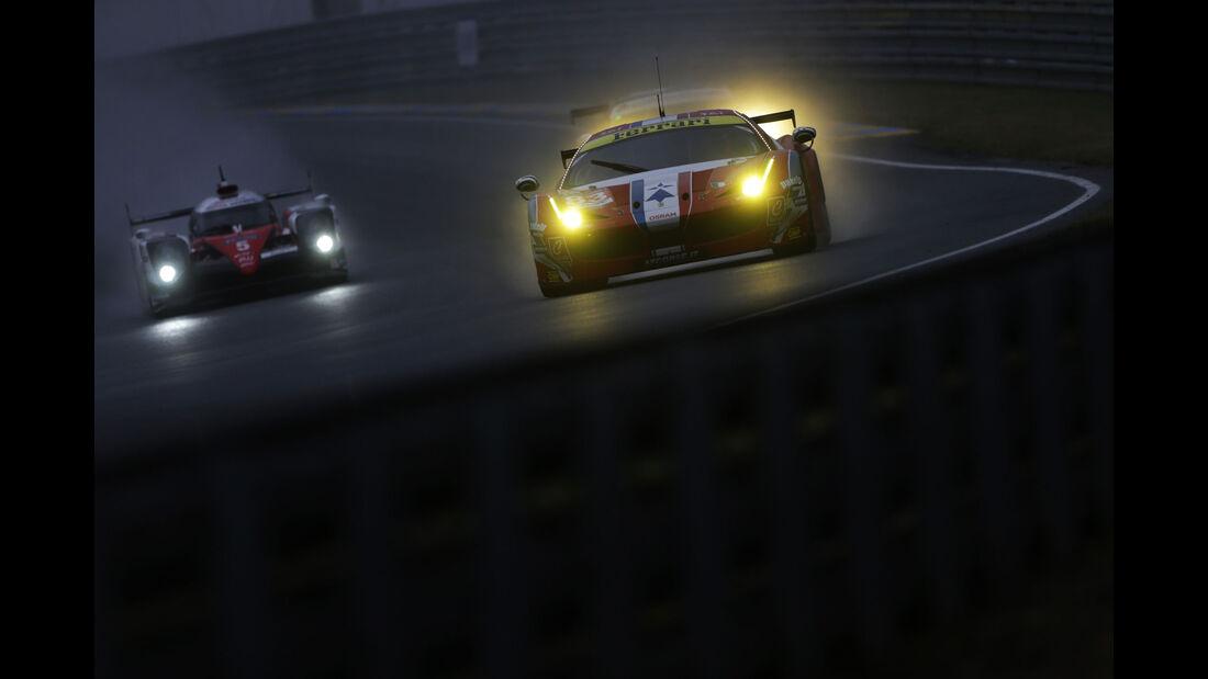 Ferrari 458 Italia - 24h-Rennen Le Mans 2016 - Donnerstag - 16.6.2016