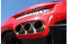 Ferrari 458 Italia, Auspuff