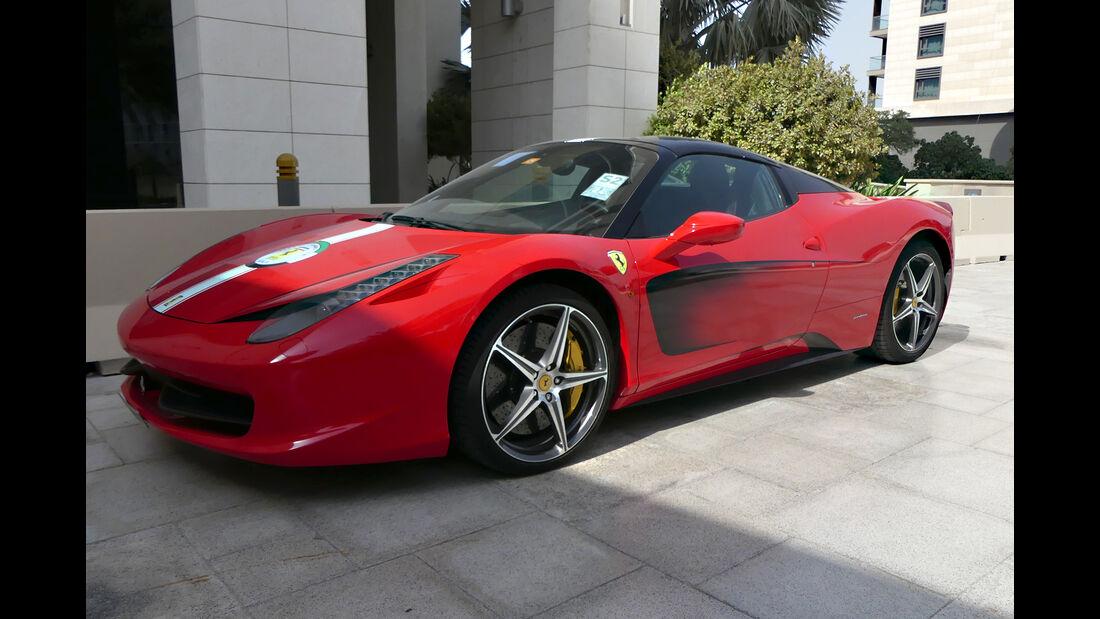 Ferrari 458 Italia - Carspotting - GP Abu Dhabi 2018