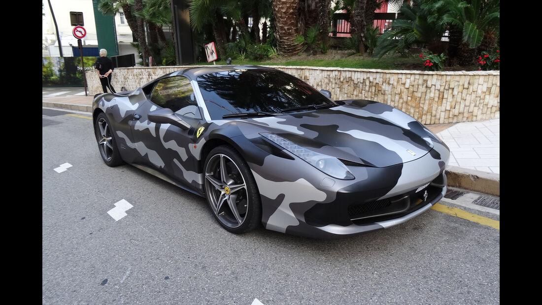 Ferrari 458 Italia - Carspotting - GP Monaco 2017