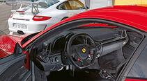 Ferrari 458 Italia, Cockpit, Lenkrad