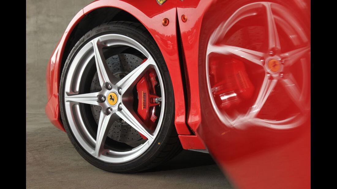 Ferrari 458 Italia, Felge
