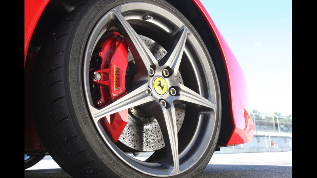 Ferrari 458 Italia, Felge, Rad
