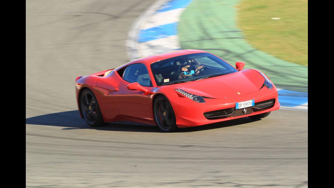 Ferrari 458 Italia, Front