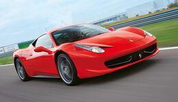 Ferrari 458 Italia, Frontansicht