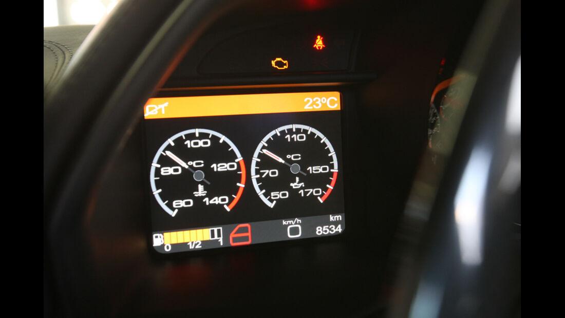 Ferrari 458 Italia, Rundinstrumente