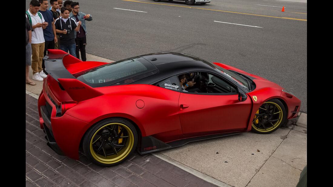 Ferrari 458 Misha-Design - 200 mph Supercarshow - Newport Beach - Juli 2016