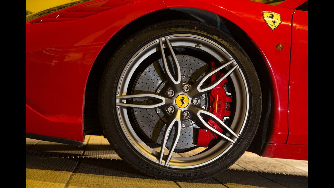 Ferrari 458 Speciale A, Rad, Felge