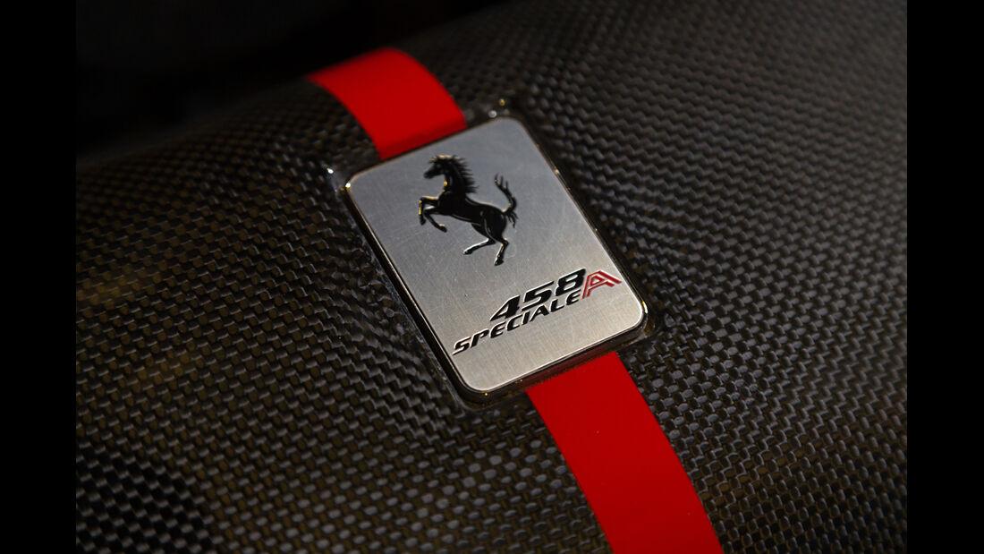 Ferrari 458 Speciale A, Typenbezeichnung