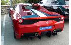 Ferrari 458 Speciale -  Carspotting - Formel 1 - GP Monaco 2015