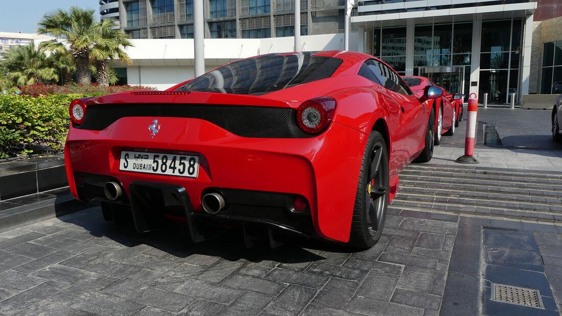 Ferrari 458 Speciale - Carspotting - GP Abu Dhabi 2019