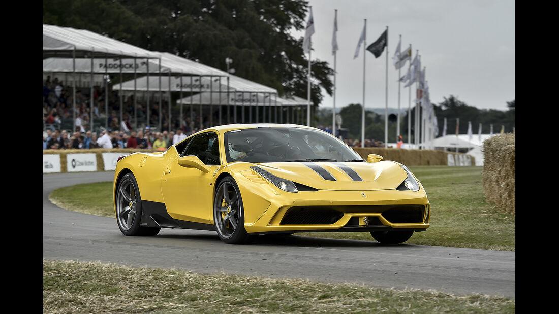 Ferrari 458 Speciale, Goodwood Festival of Speed 2014