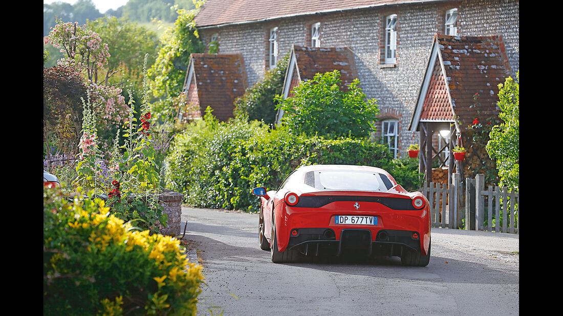 Ferrari 458 Speciale, Heckansicht