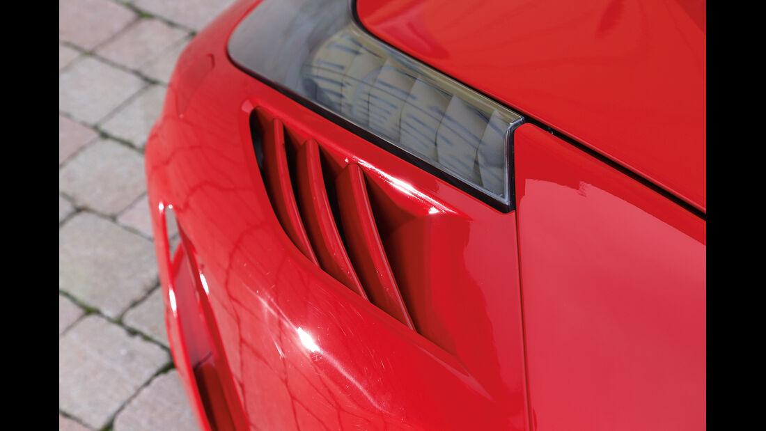 Ferrari 458 Speciale, Luftaustritte