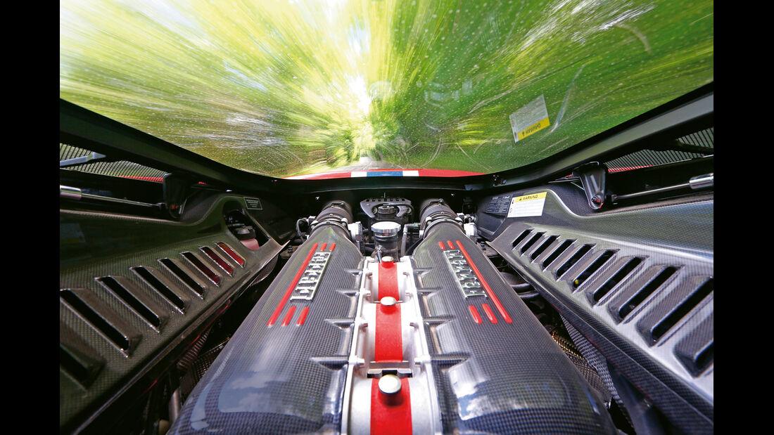 Ferrari 458 Speciale, Motor