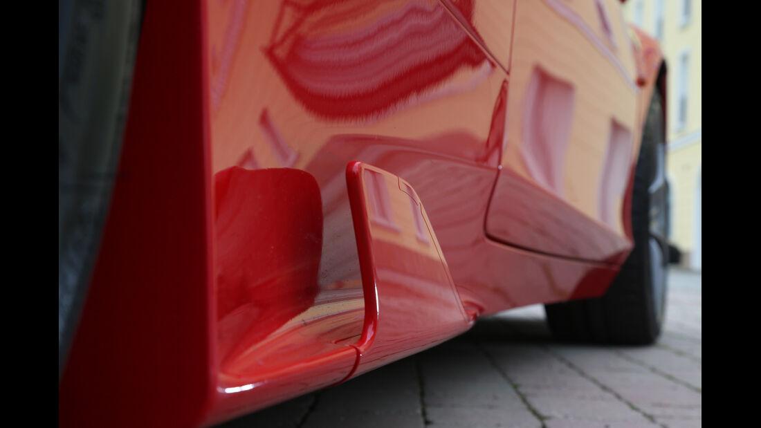 Ferrari 458 Speciale, Seitenfinne