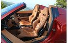 Ferrari 458 Spider, Fahrersitz, Sitze