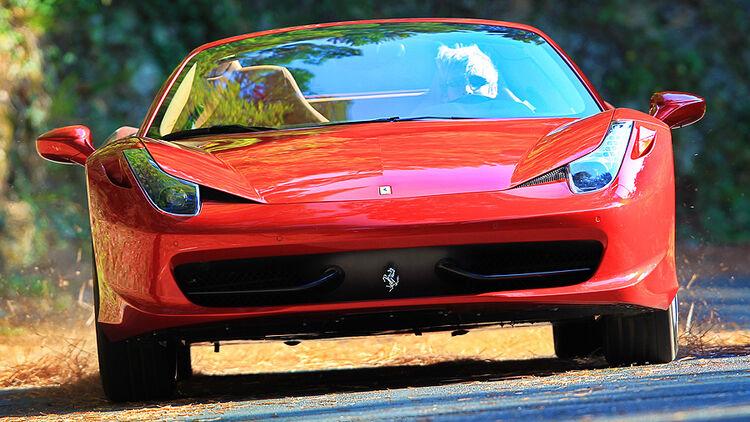 Ferrari 458 Spider Im Fahrbericht V8 Getöse Weht Direkt Ins Ohr Auto Motor Und Sport