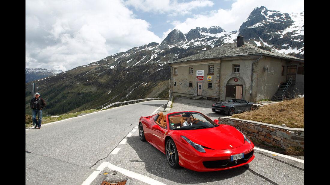 Ferrari 458 Spider, Frontansicht