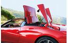 Ferrari 458 Spider, Klappdach, öffnen