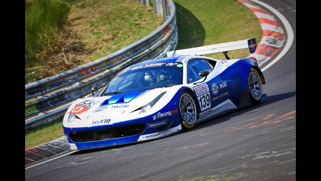 Ferrari 458 - Startnummer #139 - Hella Pagid, racing one - SP8 - VLN 2019 - Langstreckenmeisterschaft - Nürburgring - Nordschleife